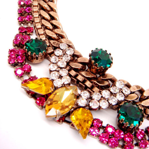 Crown Jewels Statement Necklace