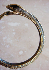 Crystal Snake Bangle