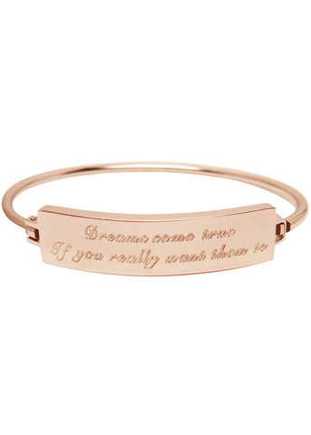 Dreams Come True Bracelet - Rose Gold