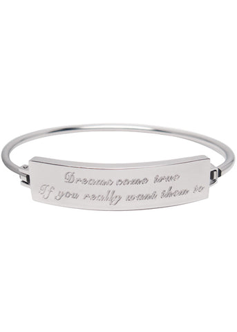 Dreams Come True Bracelet - Silver