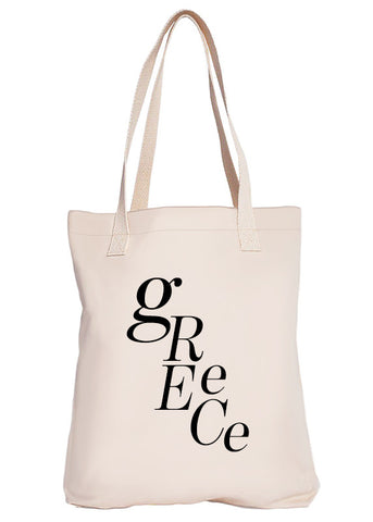 Greece Luxury Tote Bag - Limited Edition