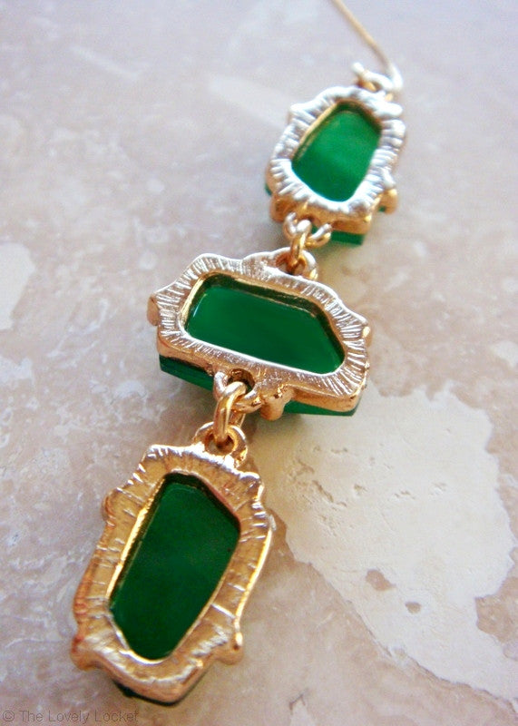 Green With Envy Earrings