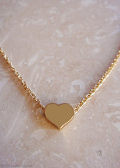 Heart of Gold 18k Necklace