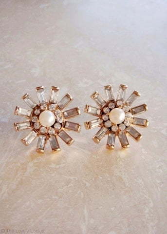 Ice Cluster Earrings