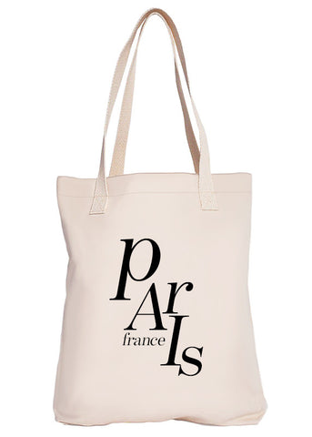 Paris France Luxury Tote Bag - Limited Edition