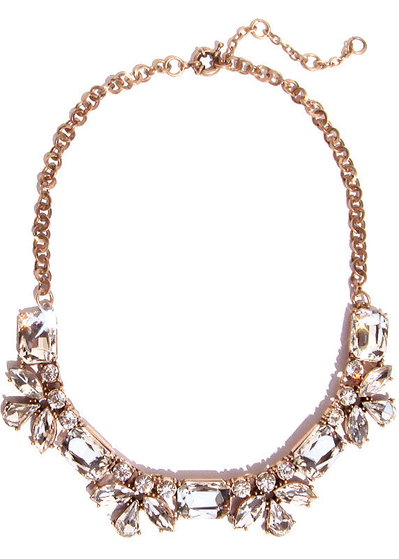 Poppy Crystal Collar Necklace