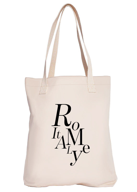 Rome Luxury Tote Bag - Limited Edition