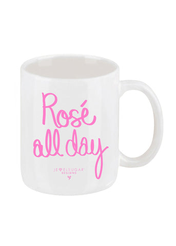 Rosé All Day Coffee Mug