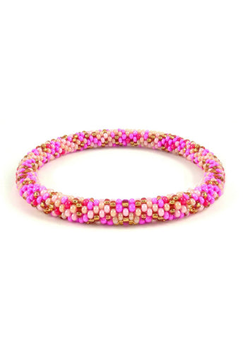 SugarStack™ Bracelet -Golden Pink Berry