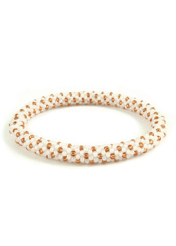 SugarStack™ Bracelet - Pearlescent Gold Dot