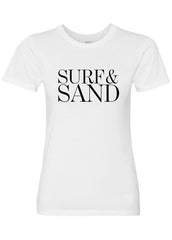 Surf & Sand Luxury Soft Crew Neck Tee by ClothSugar™ <br>[more styles available]