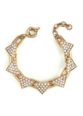 Triangle Ice Links Bracelet [available in regular or petite]