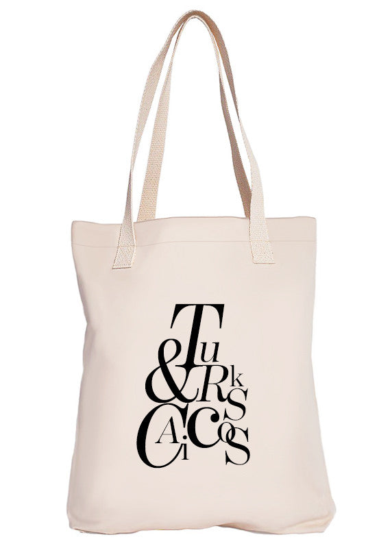 Turks and Caicos Luxury Tote Bag - Limited Edition