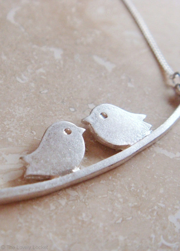 Tweet Me Necklace - Silver