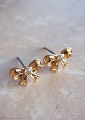 Bow and Behold Earrings