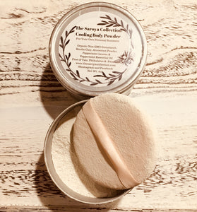 Cooling Peppermint Body Powder - The Saroya Collection