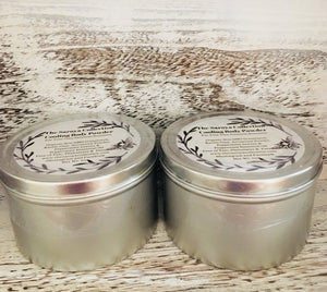 Cooling Body Powder is an amazing all natural, vegan body powder, naturally scented with peppermint essential oil . Non GMO, Free of talc, aluminum, parabens and  phthalates.
