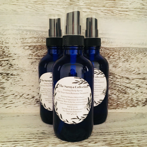 Cooling Body Spray is an amazing all natural, vegan body spray designed to help cool you from