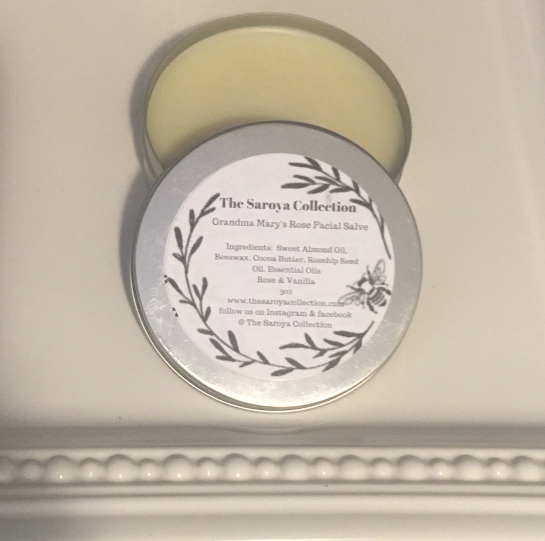 Grandma Mary's Rose Facial Salve