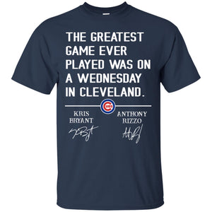 The Greatest Game Ever Played Wednesday In Cleveland