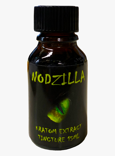 Nodzilla Kratom Extract Tincture with Phenibut