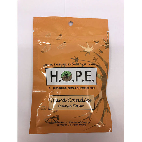 Full Spectrum CBD Hard Candies by Hope MFG (H.O.P.E.)