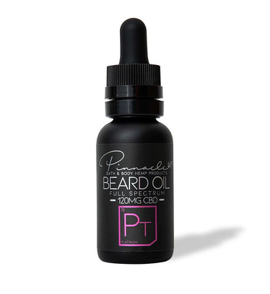 CBD-Infused Beard Oil by Pinnacle Hemp