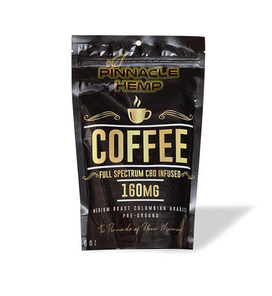 Full Spectrum CBD Ground Coffee by Pinnacle Hemp