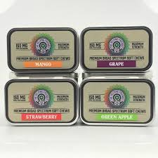 Broad Spectrum CBD Soft Chews by The Helping Friendly Hemp Company