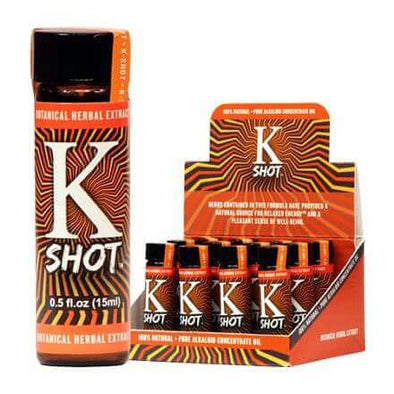 K Shot Kratom Liquid Concentrate Shots (15ml)