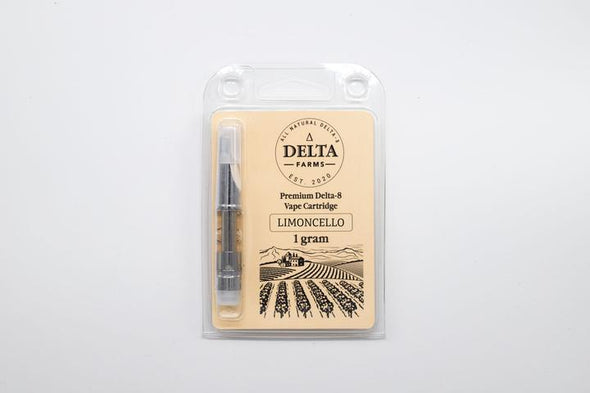 Delta 8 THC Cartridge by Delta Farms