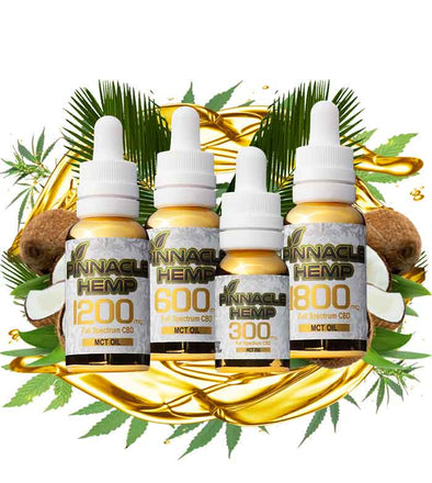 Full Spectrum CBD Tincture with MCT Oil by Pinnacle