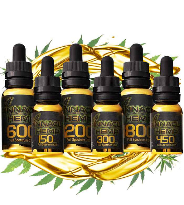 All-In-One Full Spectrum CBD Liquid by Pinnacle