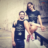 Dating & Mary Jane - Funny Stoner Shirt Couples Set | T-shirt | 1