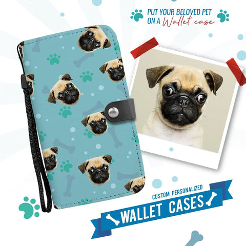 Image of Dog Lovers Personalized Wallet Phone Case | iPhone X / Xs - Wallet Case | 1