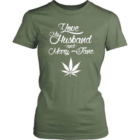 Love My Husband & Mary Jane - Womens | Fresh Fatigue / XS - T-shirt | 4