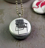 Trailer Park Locket Necklace