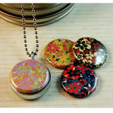 Flowers Magnetic Locket Necklace