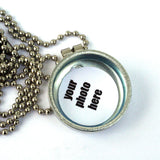 Rollerskating Locket Necklace