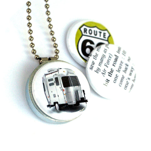 Airstream ROAD TRIP Locket Necklace
