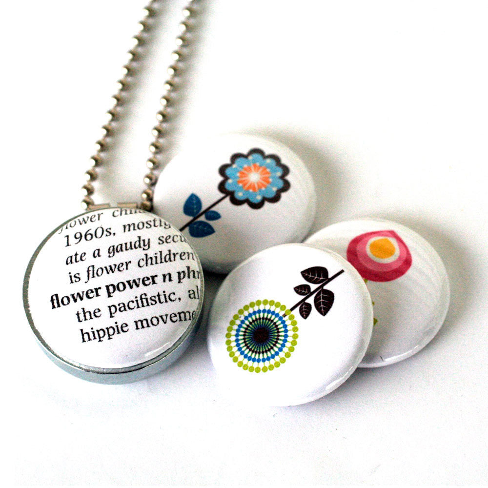 Flower Power Magnetic Necklace