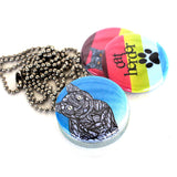 Too Many Cats Locket Necklace