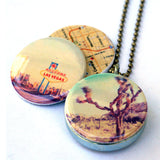 Las Vegas Locket Necklace