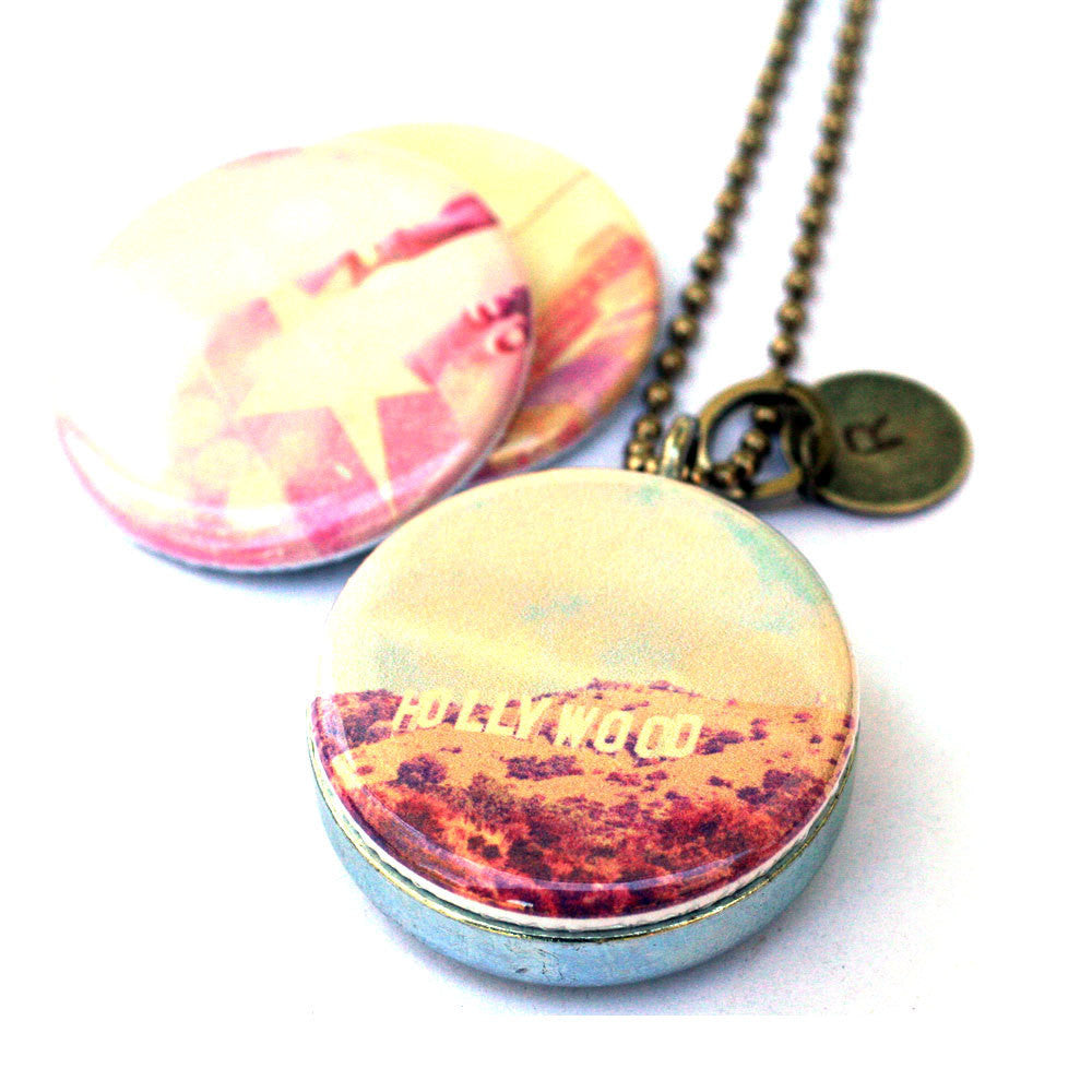 Hollywood Locket Necklace