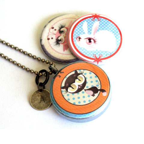 Girl's Favorite Locket Necklace