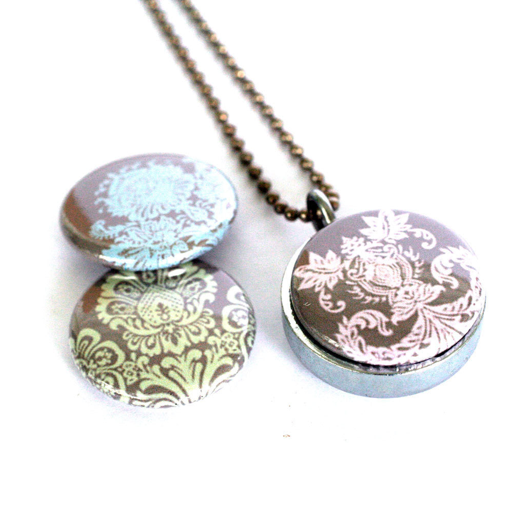 Lace Locket Necklace