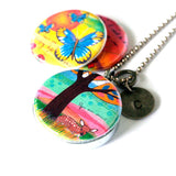 Meditation Locket Necklace