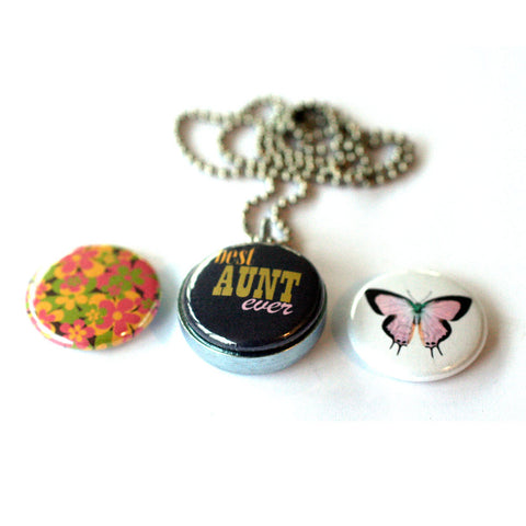 Best AUNT Locket Necklace