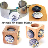 Feeding the Moon Magnetic Ring Set