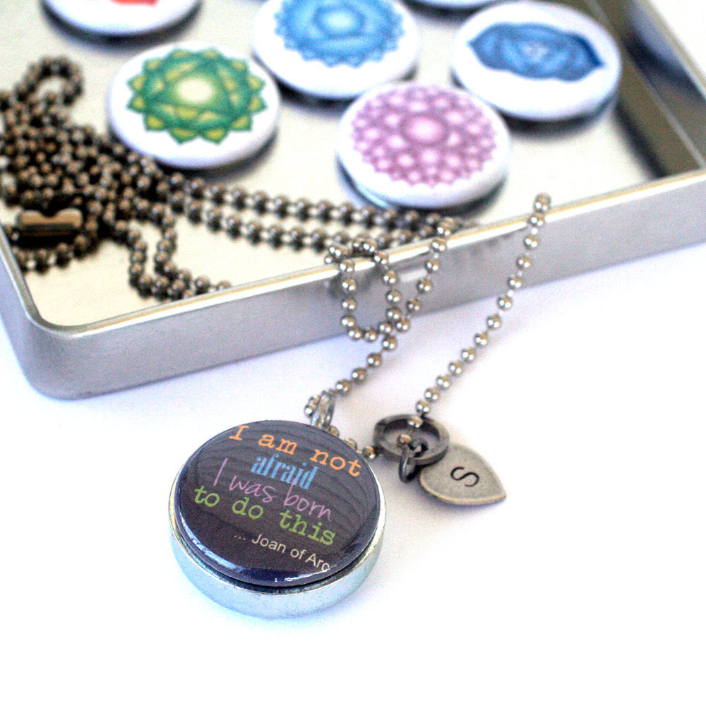 Seven Chakras Magnetic Necklace Locket